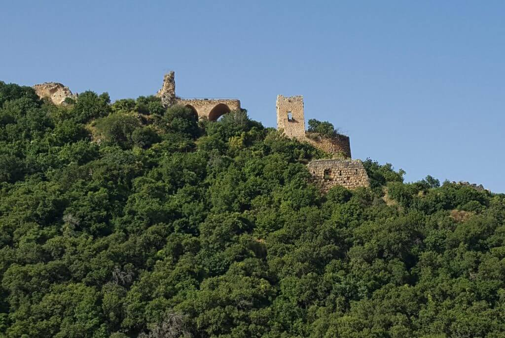 מבצר המונפורט - נחל כזיב